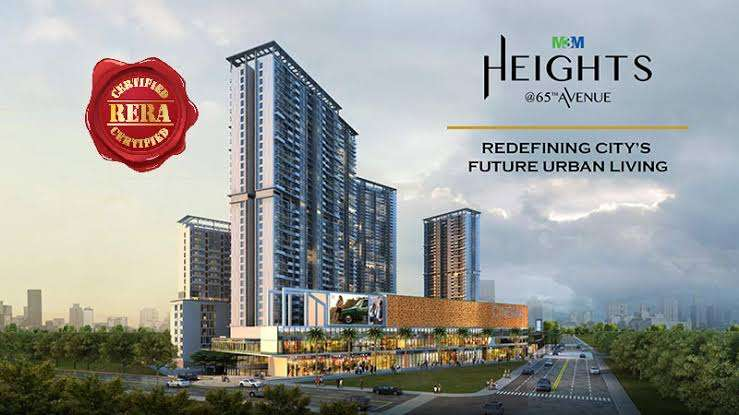 M3M Heights at 65th Avenue in Sector 65, Gurgaon